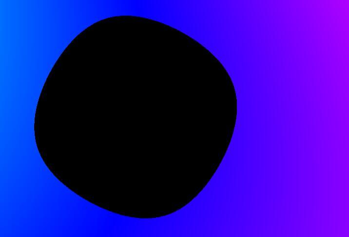 html网页模板代码canvas彩虹斑点动画特效