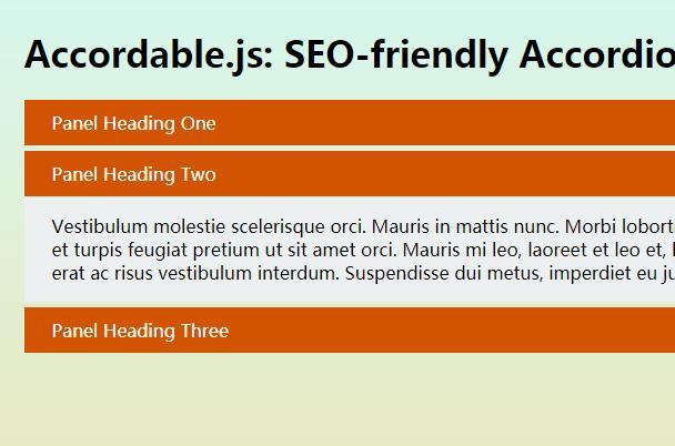 jquery网页文字信息面板收缩展开特效插件代码