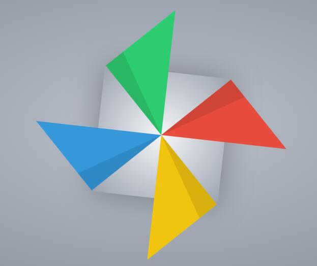 css3风车旋转动画特效样式代码
