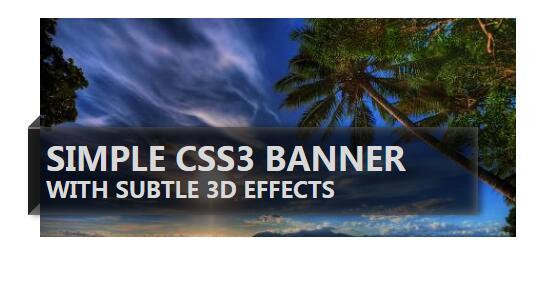 网页图片文字描述样式特效排版布局
