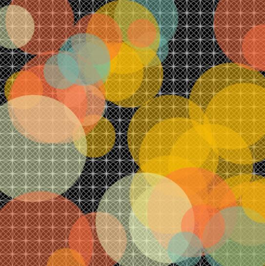 canvas透明彩色圆圈范围内来回移动特效网页JavaScript代码