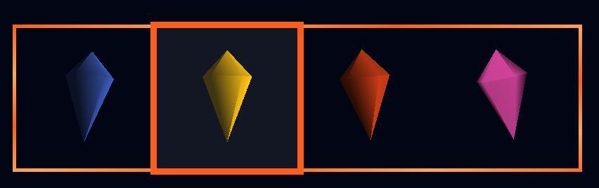 css3水晶钻石制作鼠标悬浮高亮选中状态代码