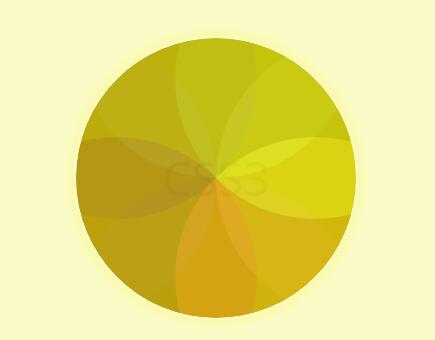 divcss透明度圆形box-shadow属性动画网页特效代码