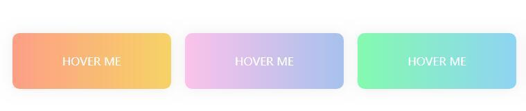 div圆角鼠标hover悬停背景色渐变动态切换样式代码