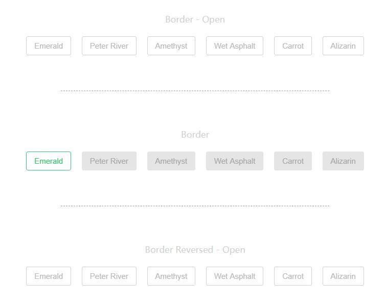 网页button圆角按钮鼠标悬停边框动画样式代码