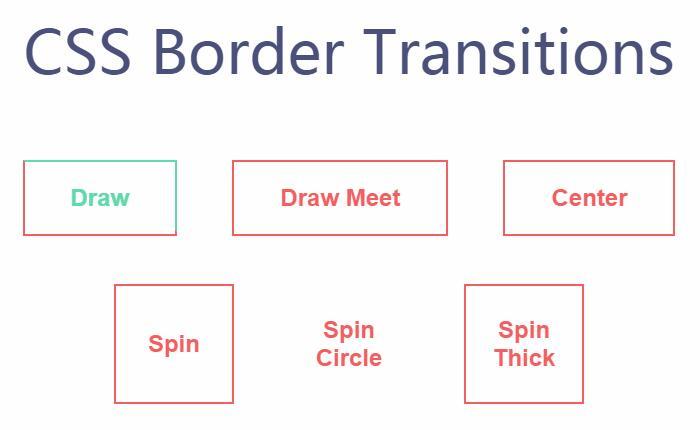 网页制作button按钮标签鼠标hover边框颜色动画样式代码