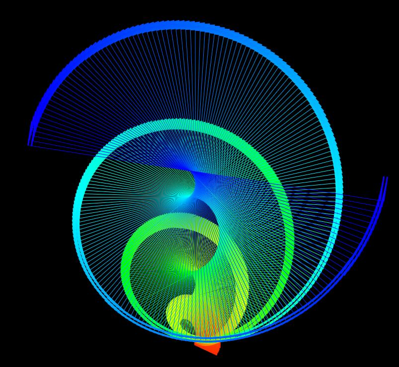 html5css3螺旋图层霓虹旋转动画特效样式代码