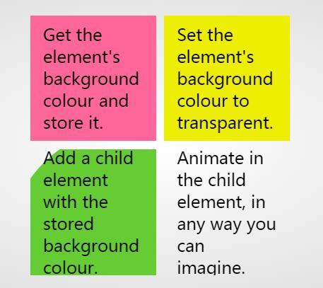 div背景颜色动画显示网页样式代码下载