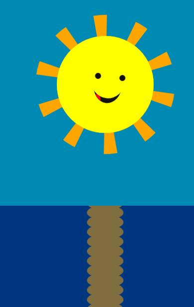 htmljs css3制作小太阳笑脸表情鼠标跟随动画特效