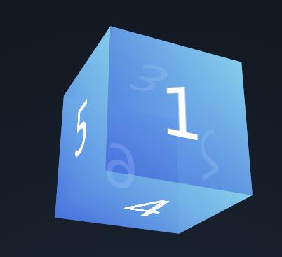 divcss半透明度立方体图形鼠标意向移动旋转动画特效网页样式代码