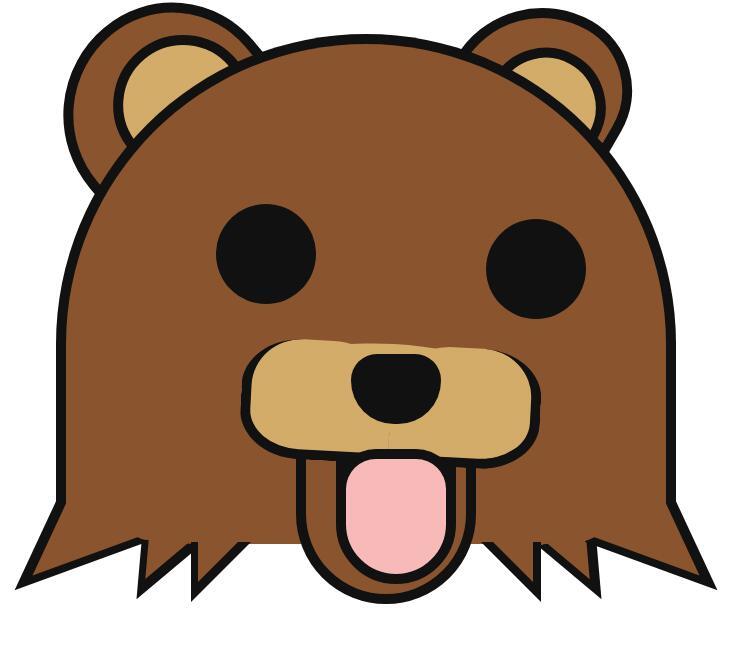 html5css3样式代码制作灰色小熊头像特效