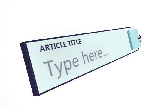 html5 input文本框标签制作3d盒子搜索栏